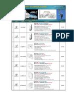 Lista de Precios Redes y Comunicaciones