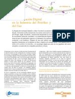 Transformacion Digital de La Industrial Del Petroleo y Gas