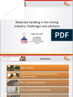 Materials handling in the mining industry