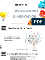 Sesión 20 - Design Thinking 4