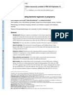 McDonald 2011 - Antibiotics for Treating Bacterial Vaginosis in Pregnancy