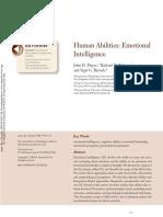 Human Abilites Emotional Intelligence
