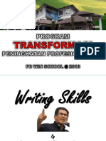 2018 Writting Skills