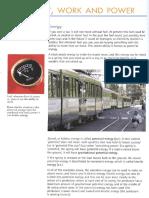Igcse Physics (6) - Energy, Work and Power