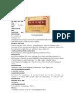 Zhi Bao San Bian Wan Instruction From Tcmherbstore
