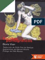Escritos Pornograficos - Boris Vian