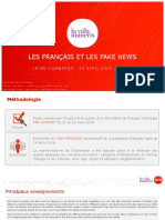LES FRANÇAIS ET LES FAKE NEWS