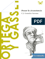 15 Ortega y Gasset - C J Gonzalez Serrano