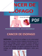 Diapositivas Cancer de Esofago