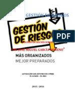 Colegio García Moreno - El Guabo - Plan de Gestión de Riesgos