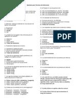 Balotario de Preguntas Para Técnicas de Enfermería - Copia
