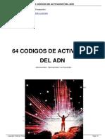 64 Codigo s de Activación de Adn