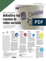 Cómo Borrar de Forma Definitiva Tus Cuentas de Redes Sociales