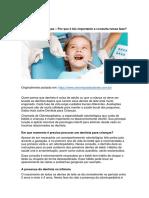 Dentista Para Crianças