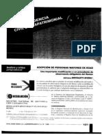 Adopción de personas mayores de edad, Adriana Bertolotti, Diálogo con la jurisprudencia 132, 2010