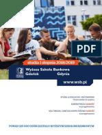 Informator 2018 - Wyższa Szkoła Bankowa w Gdańsku i Gdyni