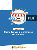 Check List Ecommerce de Sucesso