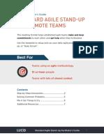 Agile Standup Facilitators Guide