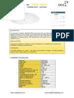 FR 182839-185151 downlight 20w