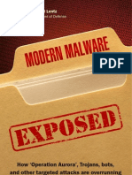 Booklet - Modern Malware Exposed