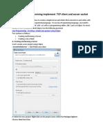 TCP Socket for Addition(2)