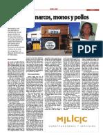 Parte 1 Schreiner Cruz Del Sur Historia de Narcos Monos y Pollos 290513