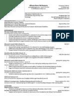 edited teaching portfolio resume