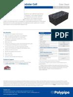 Polystorm Lite Modular Cell Datasheet Issue 3 Jan 16