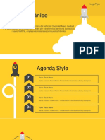 Rocket Launched PowerPoint Template