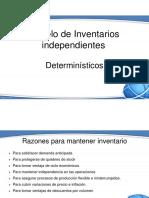 6. Modelo de Inventarios Independientes