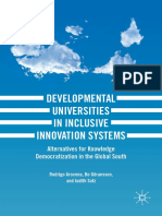Rodrigo Arocena, Bo Göransson, Judith Sutz-Developmental Universities in Inclusive Innovat