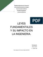 Leyes Fundamentales y Su Impacto en La Ingeniería