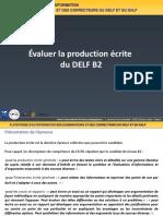B2 Evaluer Production Ecrite