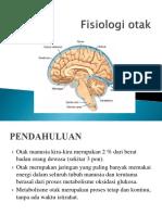 Fisiologi otak