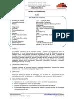 SÍLABOS -METROLOGIA DIMENSIONAL (Periodo I).docx