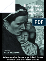 Revolution and War in Spain 1931 1939