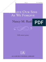 Forgive Our Sins as We Forgive 1