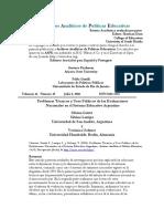 Problemas Tecnicos Usos Politicos Evaluaciones Sistema Educativo Argentino