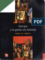Eric Wolf. La Revolución Industrial