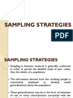 Sampling & Sampling Distributions