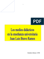 Juan Luis Bravo Ramos_Los Medios Didacticos