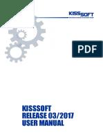 Manual KissSoft