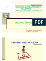 Estudio Tecnico Ingenieria de Proyectos