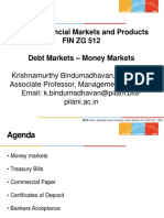 GFMP - Debt Markets - Money Market