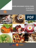 TM Identify & Prepare Various Meats FN 070214