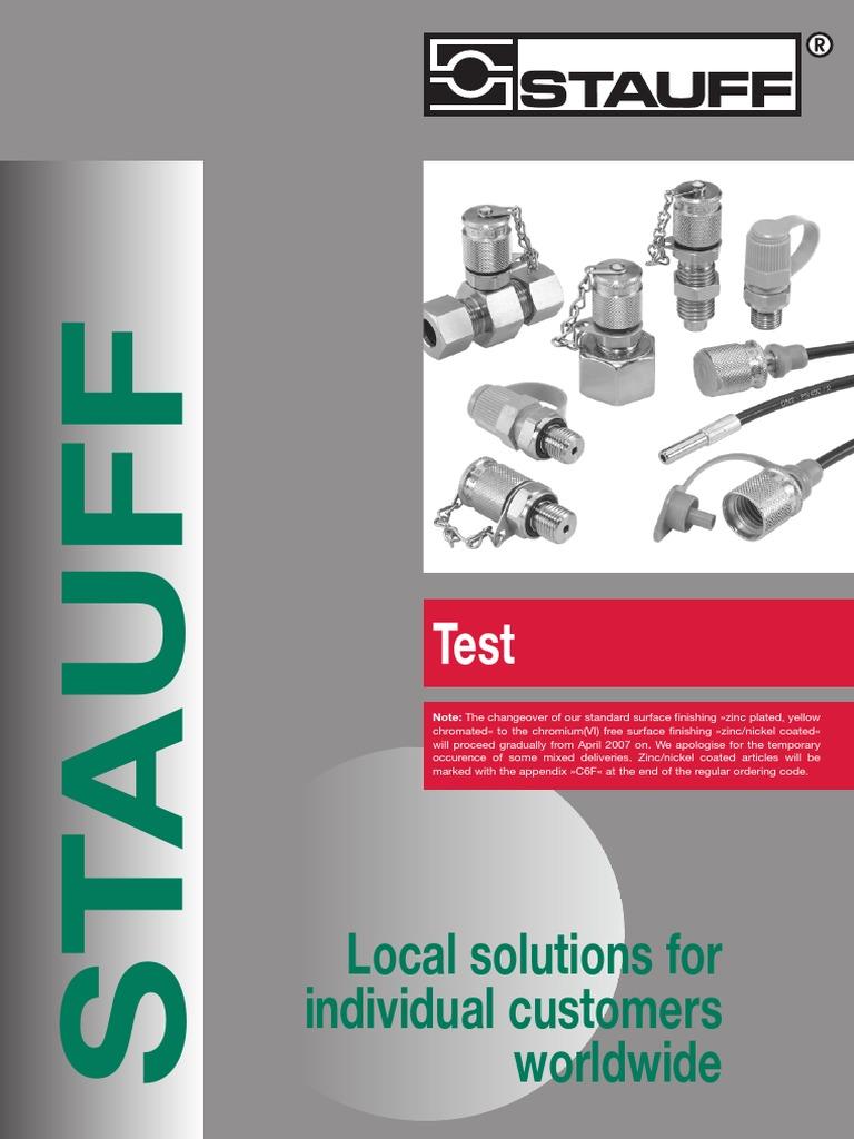 STAUFF TEST SAD Adapter SAD12//20-P NEU