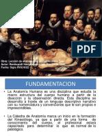 ANATOMIA Generalidades Nomenclatura