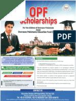 Opf Scholarship