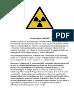 Ce Este Radiația Ionizantă