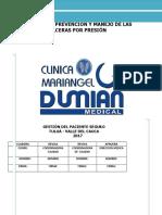 Protocolo Prevencion y Manejo de Las Ulceras Por Presion